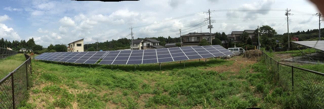 産業用太陽光発電システムへの投資事業を立ち上げ